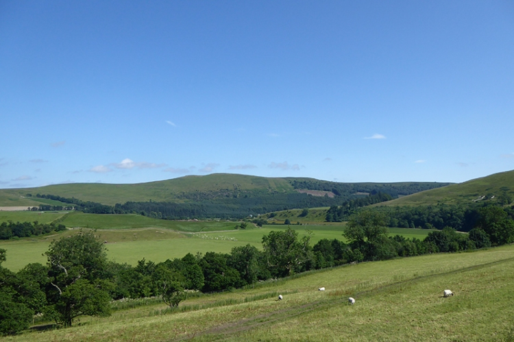 View of Esk valley at Potholm
