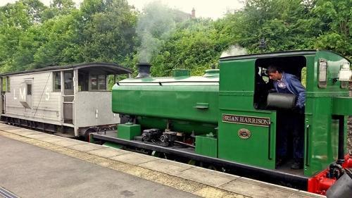 Wirksworth train