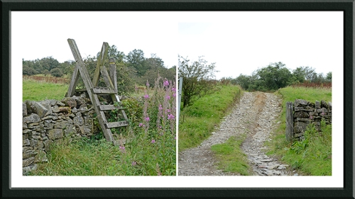Catle Hill stile and gate