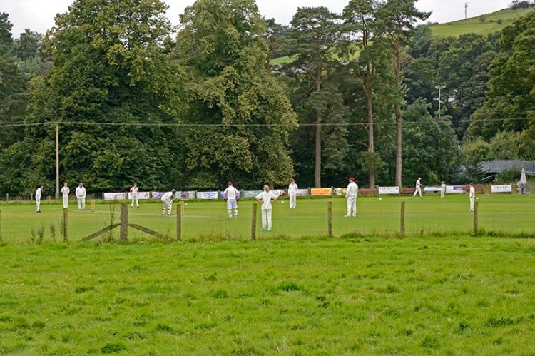 Cricket on the castleholm