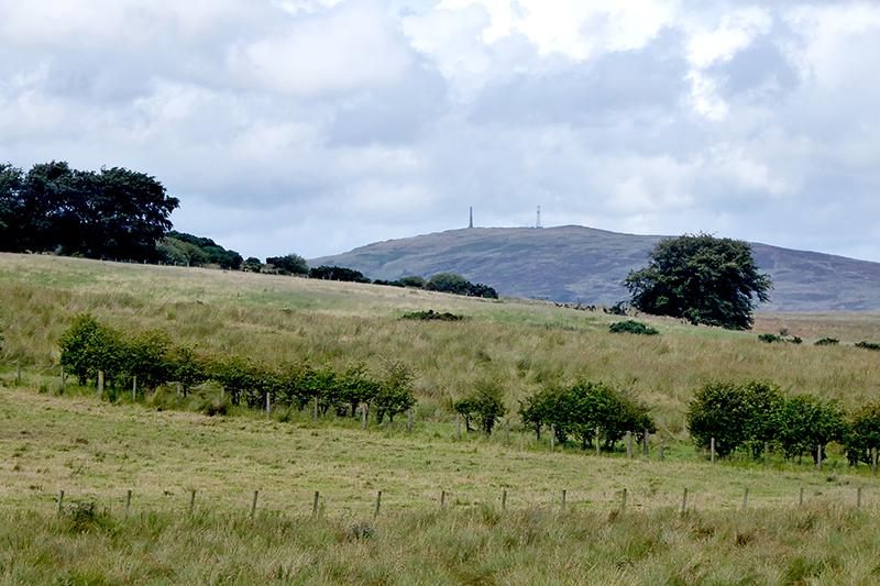 Whita Hill seen from Chapelhills