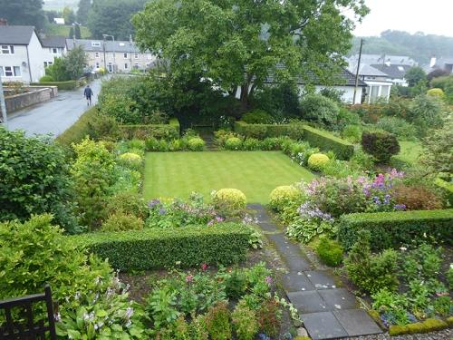 garden in wet