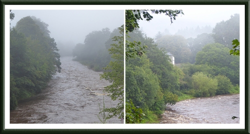 Esk with mist
