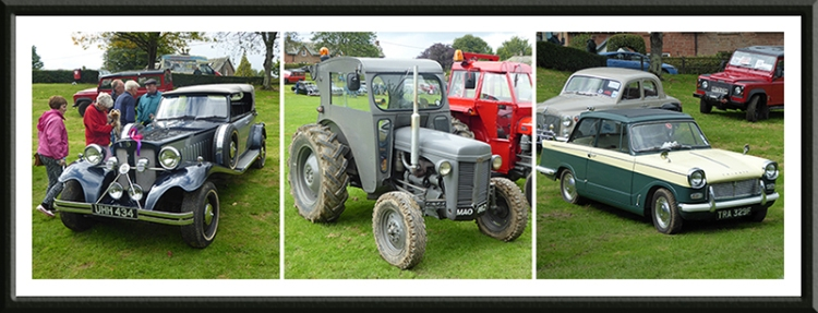 Canonbie show cars and tractors