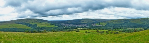 Panorama from Castle hill