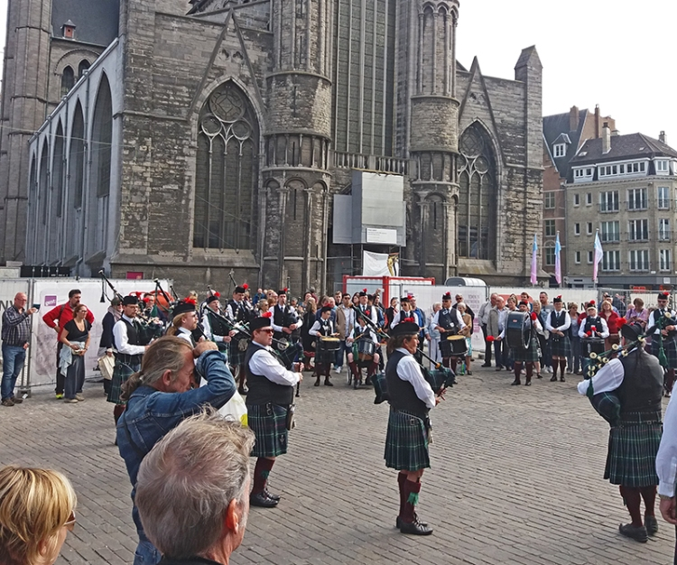 ghent pipe band