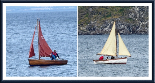 sailing boats at North Berwick