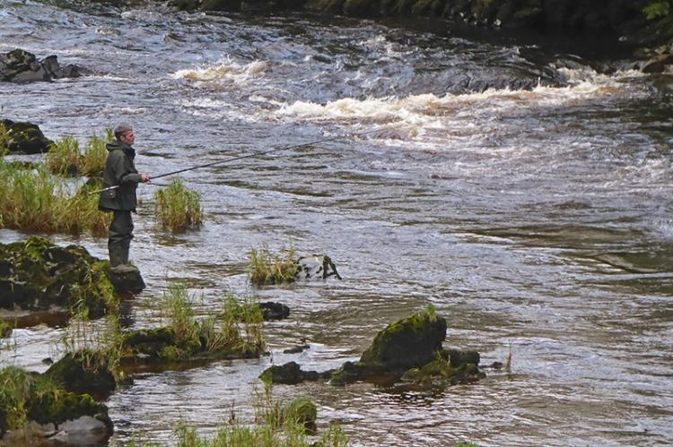 colin fishing