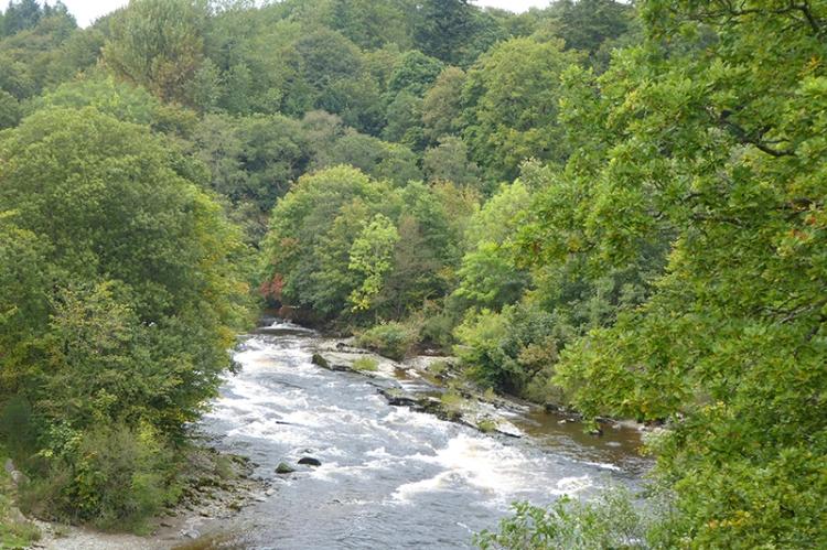 hollows bridge view