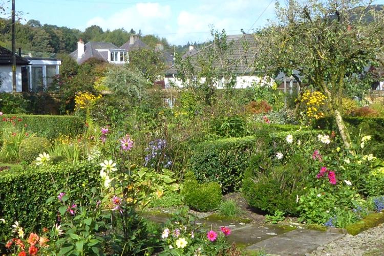 garden late Spetember 2107