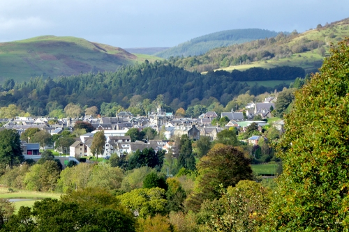 Langholm from the Round House