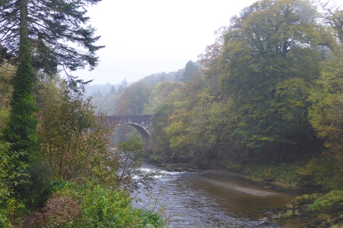 Skippers Bridge in autumn