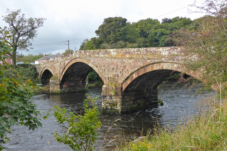 River Annan bridge at Brydekirk