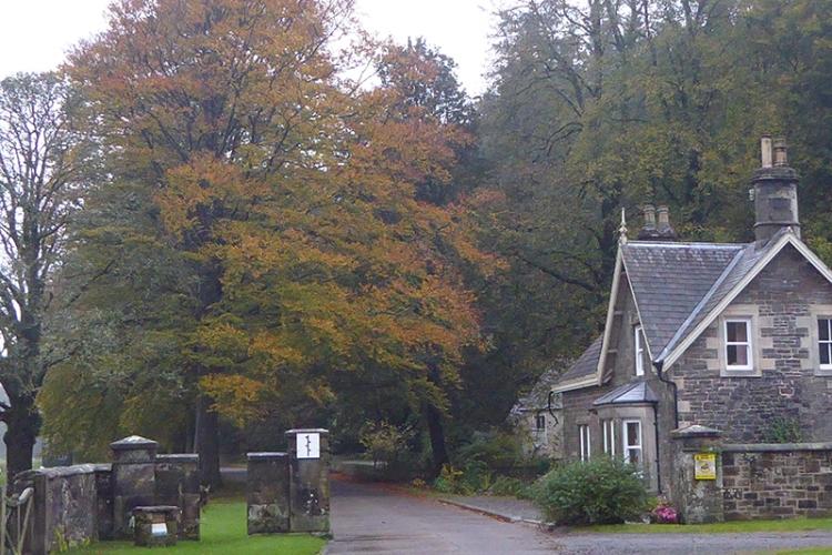 Lodge gates