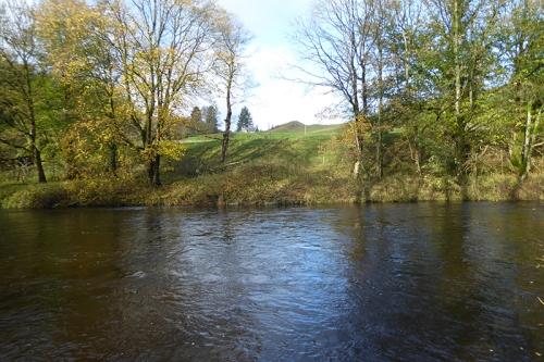 River esk opposite the Breckonwrae