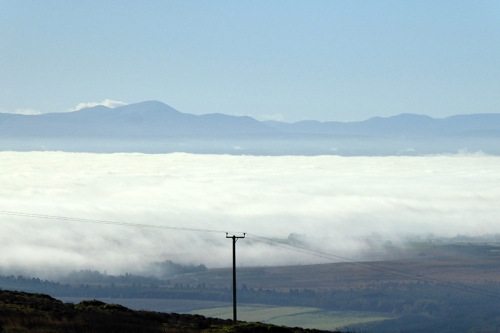 Solway covered in mist
