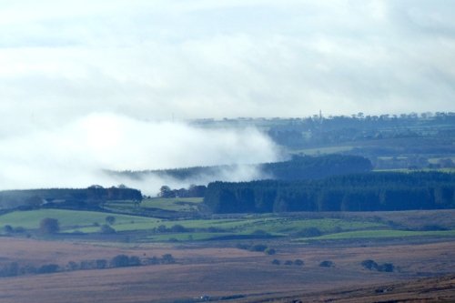 Mist lifting