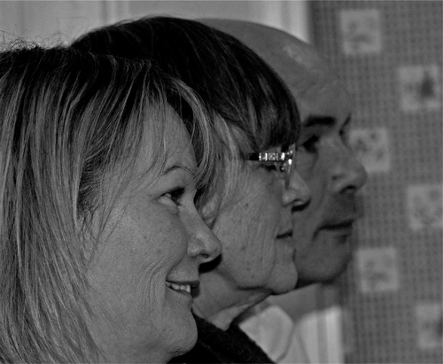 Marianne, Mrs Tootlepedal and Tony.