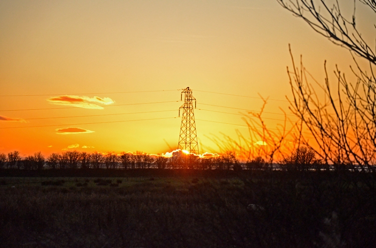 sunset Gretna
