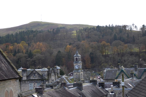 View over the town