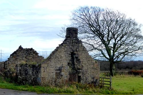 Ruin near Chapelknowe