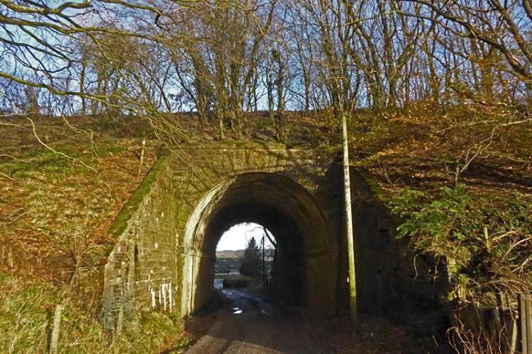 Liddle viaduct bridge