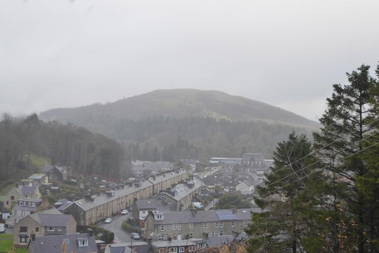 Castle Hill in cloud