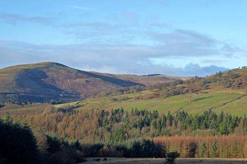 Craig windfarm view