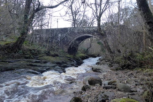 Hynam bridge, River Gelt