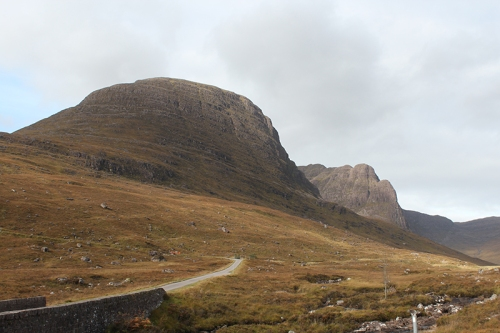 bottom of Bealach-na ba on the way to Applecross