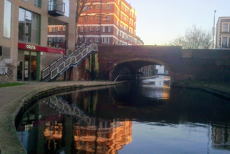 Regent's canal at Camden Town