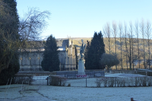 Langholm Church in winter