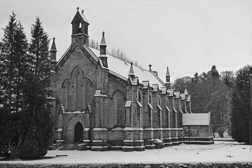 parish church snow