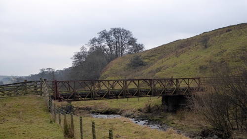 Cleuchfoot farm bridge