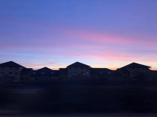 Bach sunset
