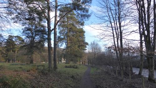New path castleholm