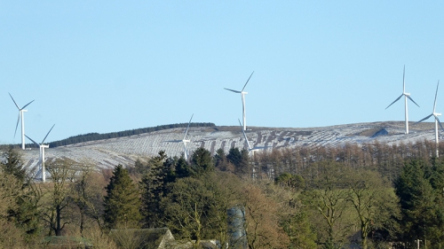 Ewe Hill windfarm