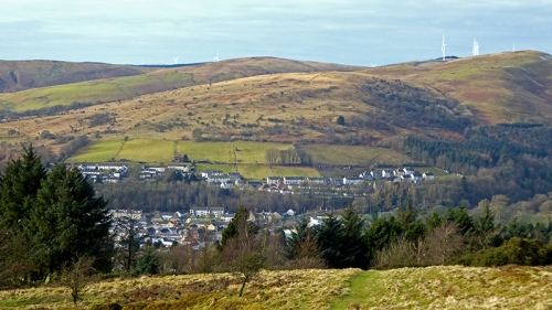 Langholm from Whita
