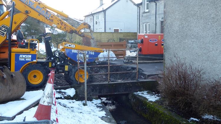 dam bridge repairs