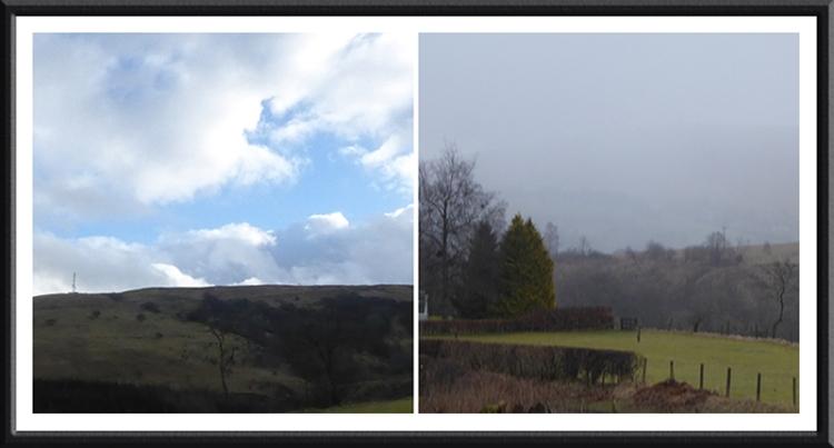 sunshine and hail