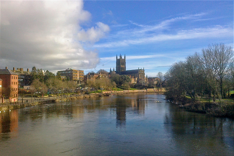 River Severn at Worcester