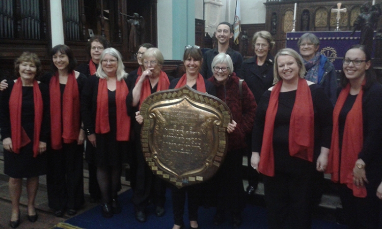 choir at Carlisle music festival
