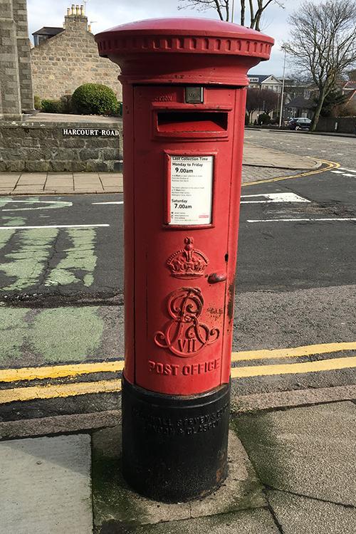 aberdeen postbox