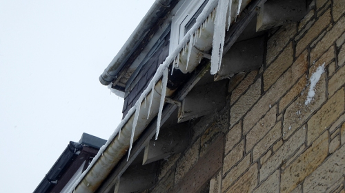 icicles in caroline Street