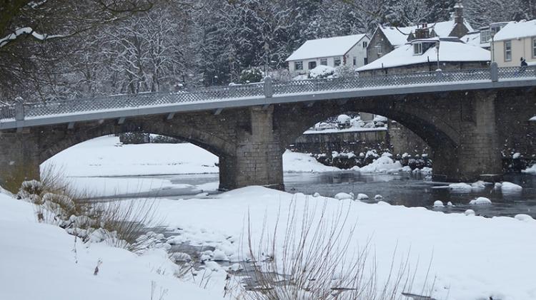 Langholm bridge