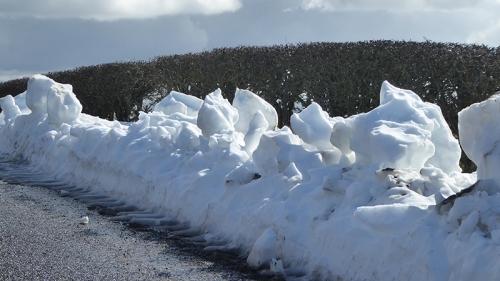 snow at Tarcoon