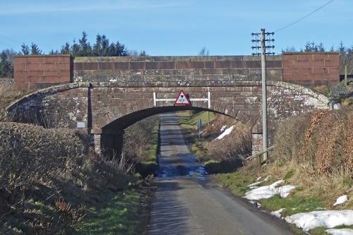 railway bridge near Rigg