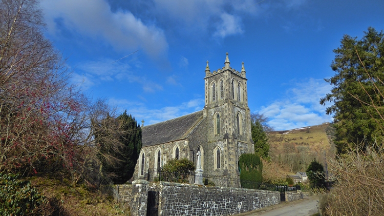 Westerkirk Church without poles