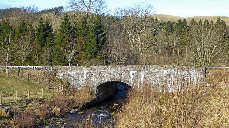 Boyken Burn bridge