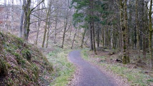 Byreburn track